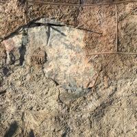 Sondre Green gård / AiR - Avskalling av låvevegg