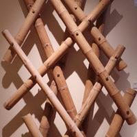 Flettverk, materialprøve - arkitekt Kengo Kuma