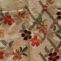 Kimono-detalj, Nasjonalmuseet i Tokyo