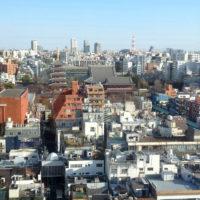 Asakusa-området i Tokyo
