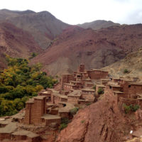 Atlas-fjellene, landsby