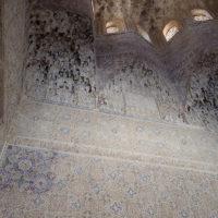 Alhambra, tak og vegg